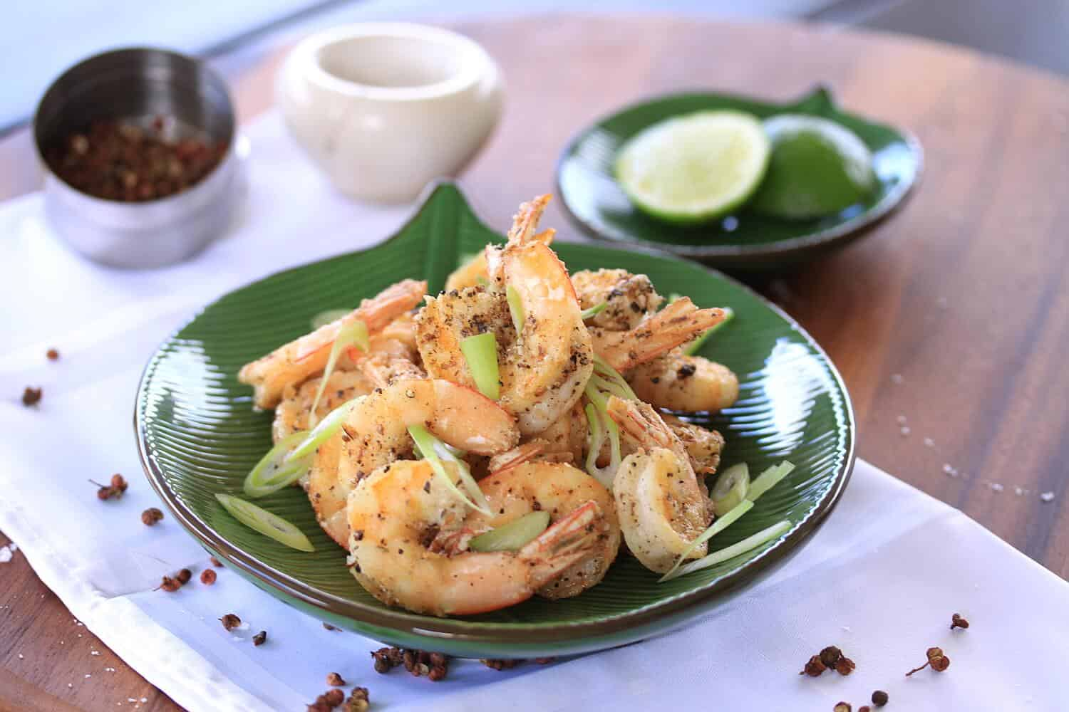 Salt and Pepper Prawns by Sugar Salt Magic