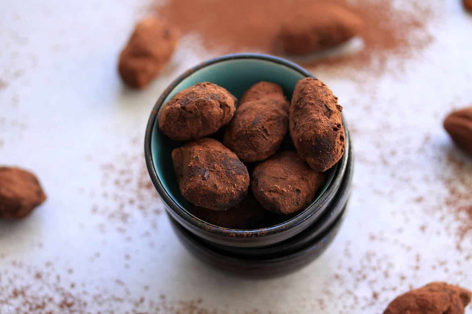Toffee Pecan Chocolate Truffles by Sugar Salt Magic