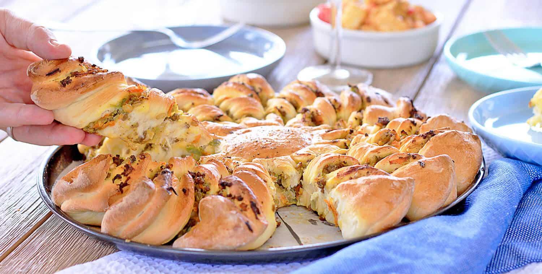 Chiko Roll Pull Apart Bread by Sugar Salt Magic