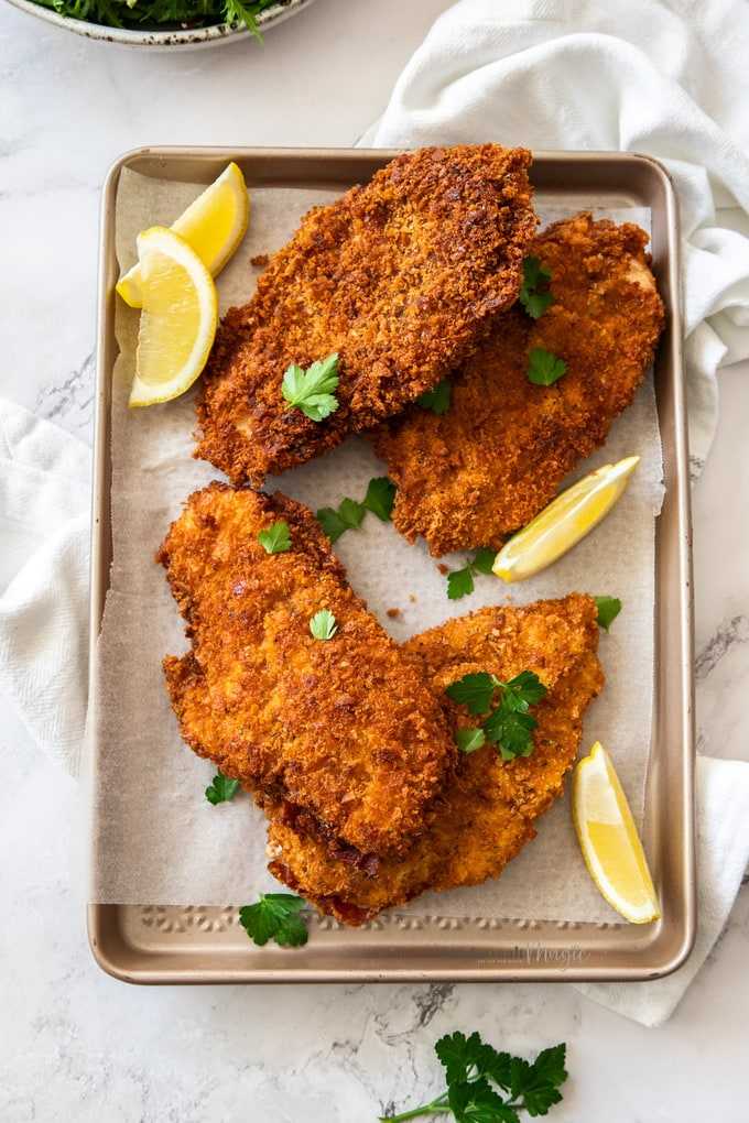 How To Make Chicken Schnitzel Sugar Salt Magic