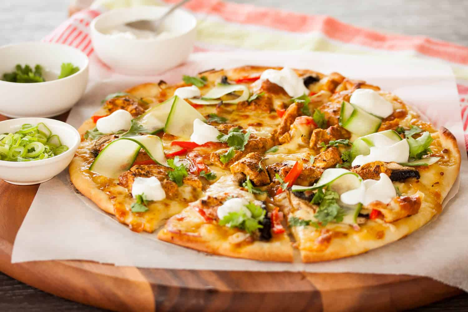 Tandoori Chicken Pizza Sugar Salt Magic
