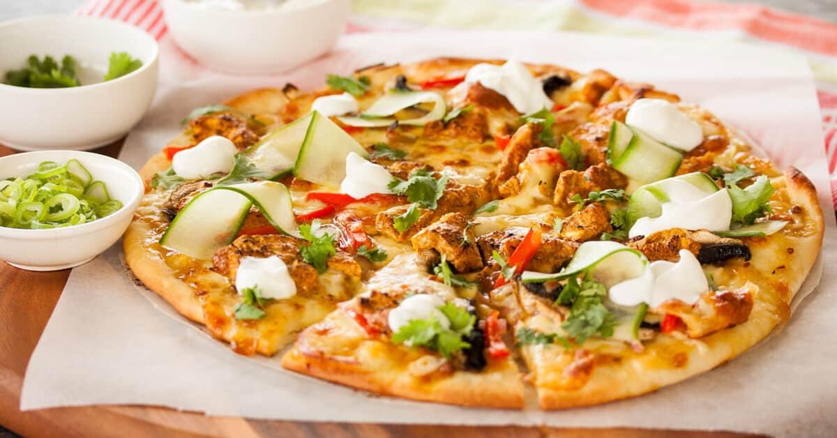 Tandoori Chicken Pizza Sugar Salt Magic