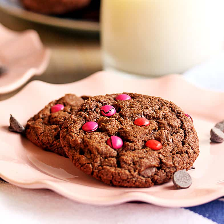 Double Choc Chip Cookies by Sugar Salt Magic