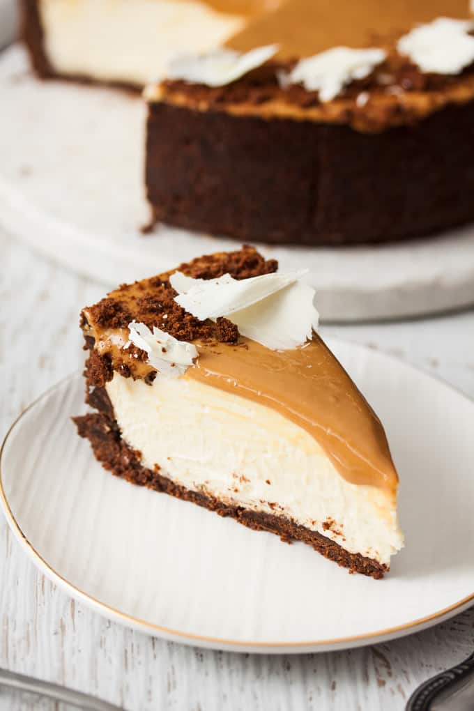 Dulce De Leche White Chocolate Cheesecake Recipe Sugar Salt Magic