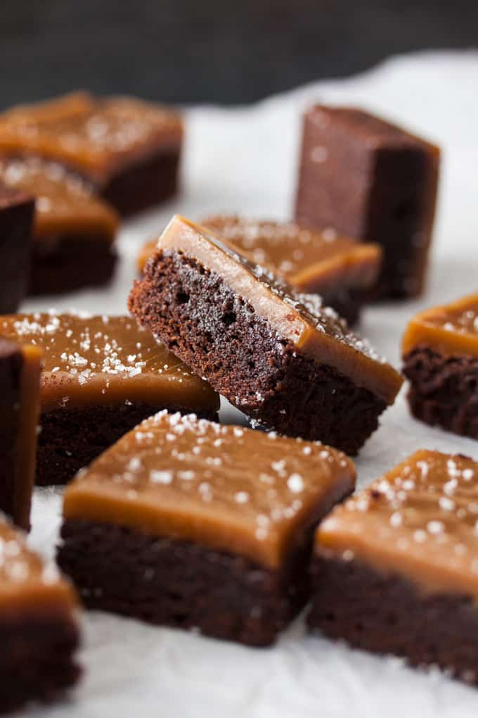 Salted Butterscotch Chocolate Fudge Brownies Sugar Salt Magic