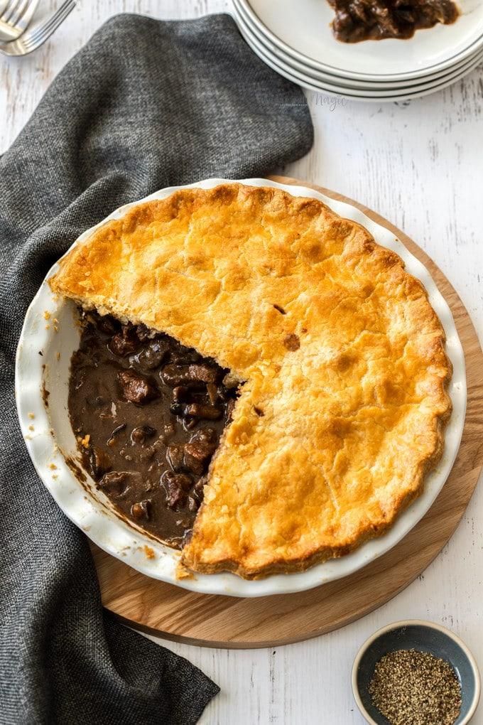 Steak and Mushroom Pie | Sugar Salt Magic