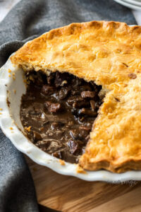 Steak and Mushroom Pie | Sugar Salt Magic