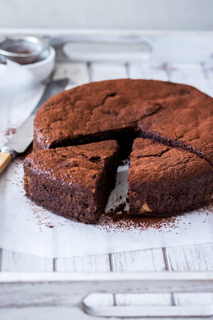 Flourless Chocolate Hazelnut Cake Sugar Salt Magic