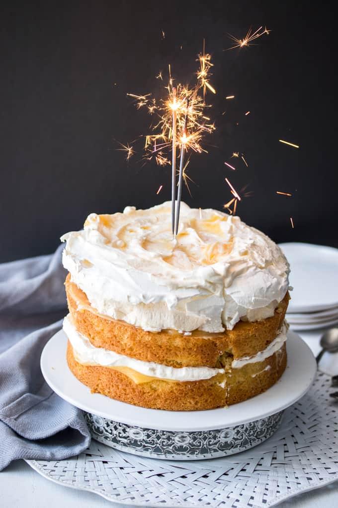 Pleasant Lemon Meringue Cake Sugar Salt Magic Personalised Birthday Cards Paralily Jamesorg