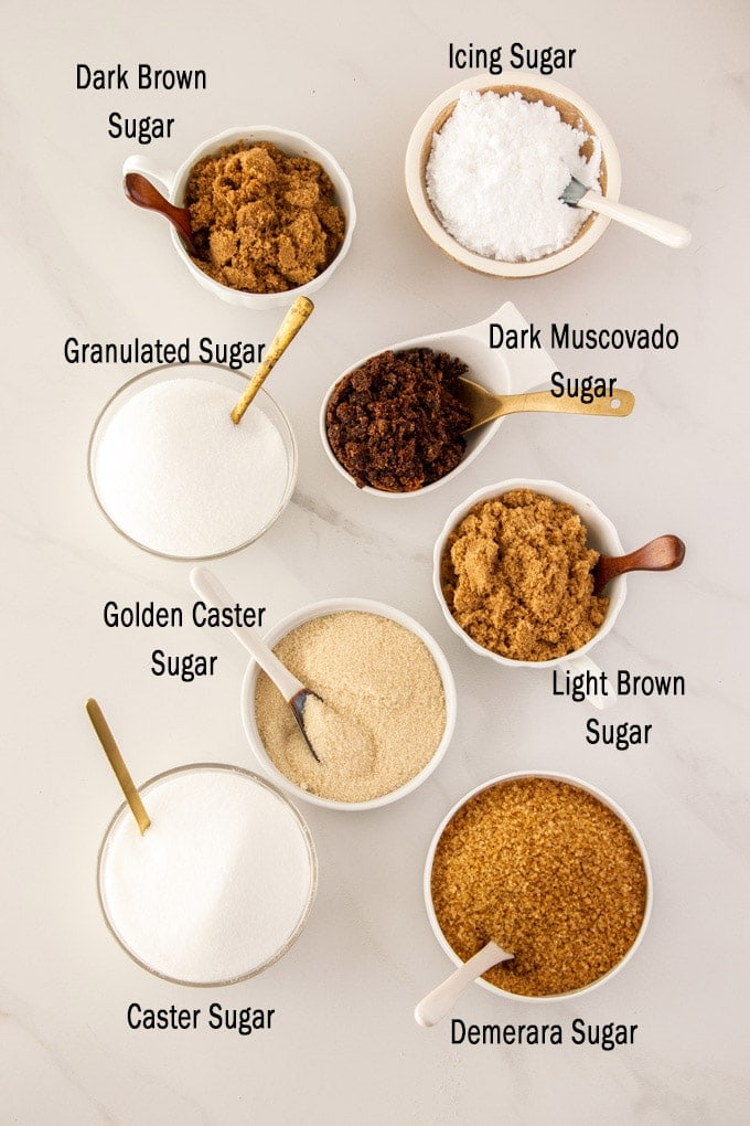 Common Types of Sugar in Baking (Baking Essentials) | Sugar Salt Magic