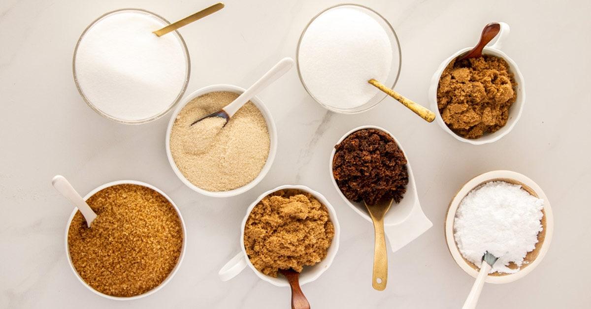 Common Types Of Sugar In Baking Baking Essentials Sugar Salt Magic