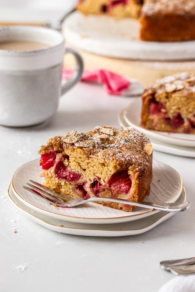Sour Cream Rhubarb Coffee Cake Sugar Salt Magic