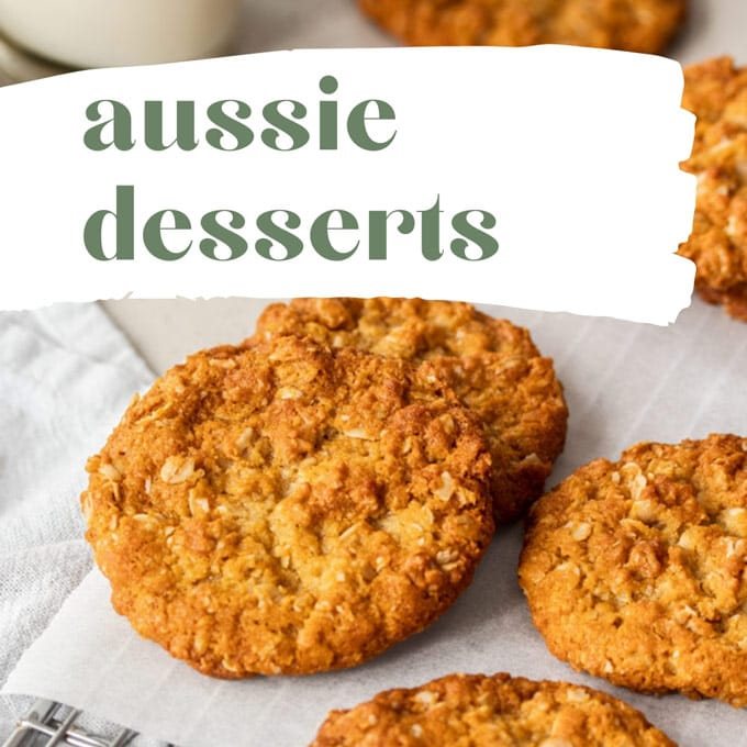 A batch of anzac biscuits