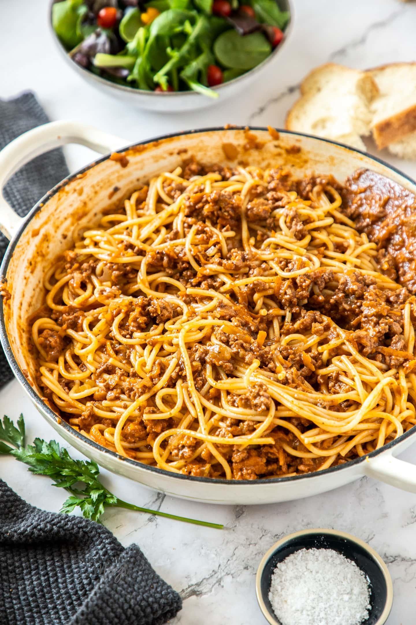 The Best Spaghetti Bolognese