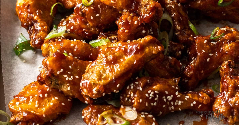 Crunchy Korean Fried Chicken Wings Recipe